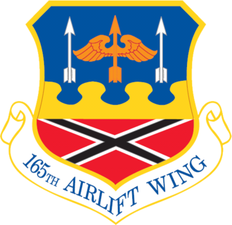 Savannah/Hilton Head International Airport - Image: 165th Airlift Wing