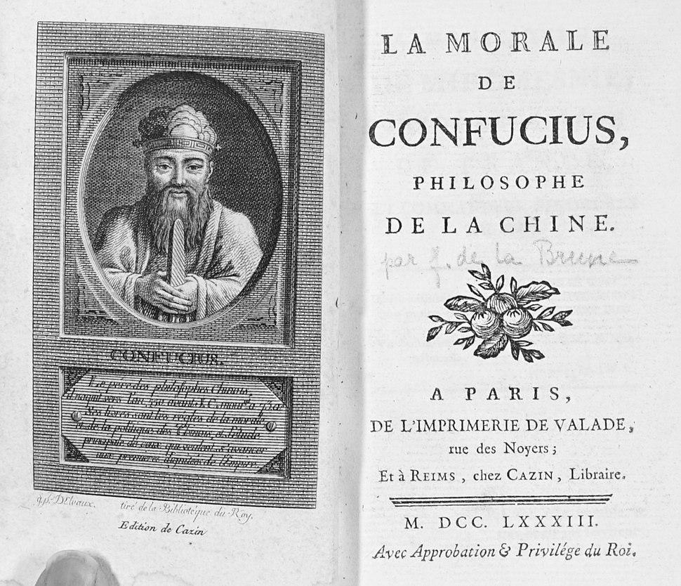 1783 morale de Confucius 1005146