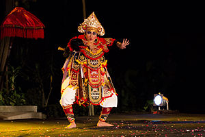 Baris (dance) - A Baris Tunggal dancer