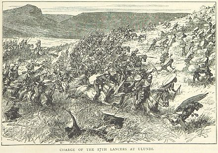 17th Lancers at the Battle of Ulundi, July 1879