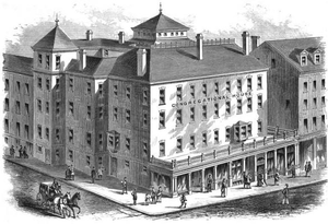 Cummings and Sears - Image: 1873 Congregation House Beacons St Boston