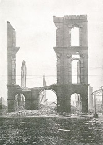Maryland Institute College of Art - The Maryland Institute, after the 1904 Fire