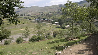 Razmak Town in Federally Administered Tribal Areas, Pakistan