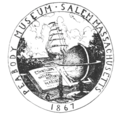 1921 Peabody Museum of Salem Massachusetts logo.png