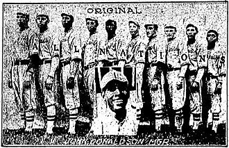 John Donaldson (pitcher) - 1913 All Nations