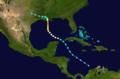 1926 Atlantic hurricane 3 track.png