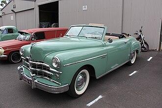Dodge Wayfarer - 1949 Dodge Wayfarer roadster