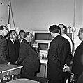 1957 Visite du ministre de l'agriculture Mr ANDRE DULIN au CNRZ-15-cliche Jean Joseph Weber.jpg