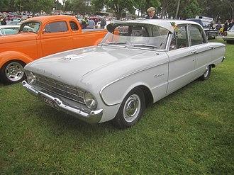 Ford Falcon (XK) - Image: 1961 Ford XK Falcon Deluxe Sedan (10359220375)