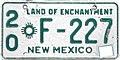 1963 New Mexico license plate.JPG
