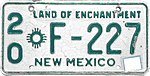 1963 New Mexico license plate.JPG