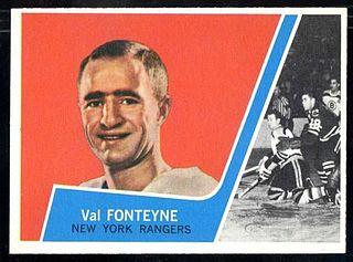 Val Fonteyne Canadian ice hockey player