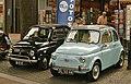 1969 Fiat 500L & 1968 Fiat 500 (14425332074).jpg