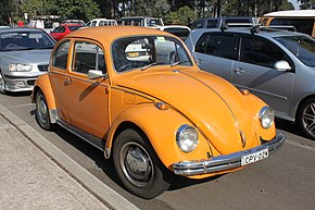 The last Volkswagen Beetle