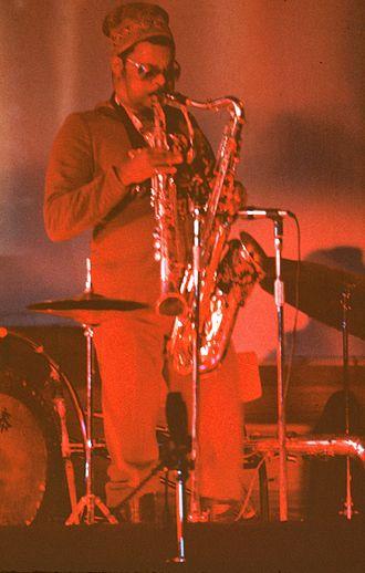 Rahsaan Roland Kirk - Kirk in 1972