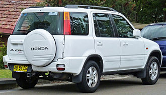 Honda CR-V - Facelift Honda CR-V Sport, Australia