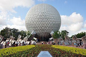English: Epcot Spaceship Earth Walt Disney Wor...