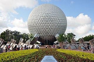 Epcot Second of four theme parks built at Walt Disney World
