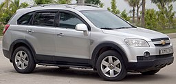 2006-2011 Chevrolet Captiva LS wagon (2015-12-28) 01