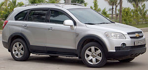 Chevrolet Captiva - Image: 2006 2011 Chevrolet Captiva LS wagon (2015 12 28) 01