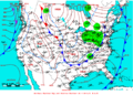2008-02-19 Surface Weather Map NOAA.png