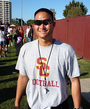 Rocky Seto - Seto during his time on the USC coaching staff.