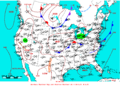 2009-06-13 Surface Weather Map NOAA.png