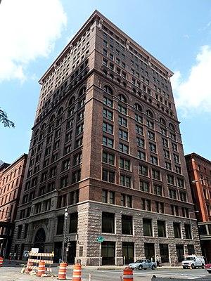 Pioneer and Endicott Buildings - The Pioneer Press Building.