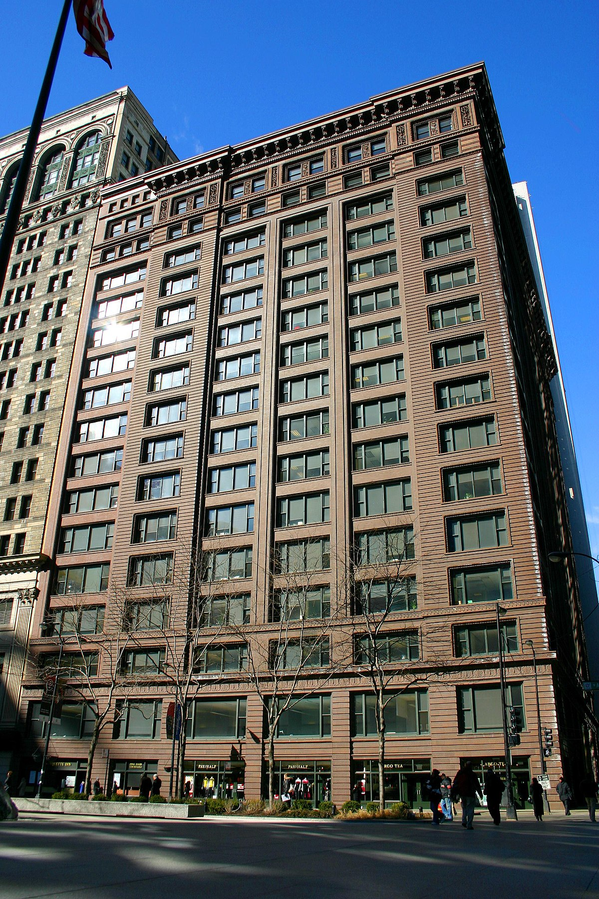 Marquette Building Chicago Wikipedia