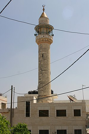 Islam in Palestine - Mosque in Ramallah