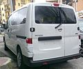 2010 Nissan NV200 Italy rear.jpg