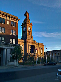 Huron County Courthouse and Jail local government building in the United States