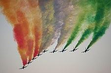 20110827 Frecce Tricolori Radom Air Show 9980.jpg