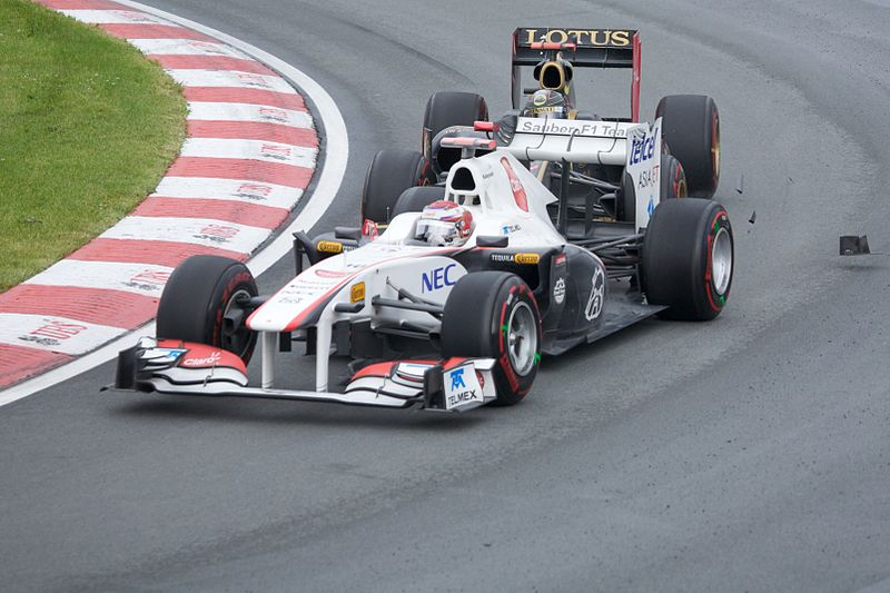 File:2011 Canadian GP - Kobayashi-Heidfeld crash.jpg