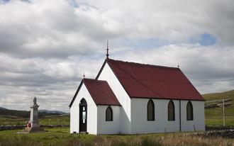 Syre, Scotland - The 19th century church in Syre