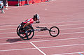 2013 IPC Athletics World Championships - 26072013 - Catherine Debrunner of Switzerland during the Women's 400M - T53 second semifinal 10.jpg