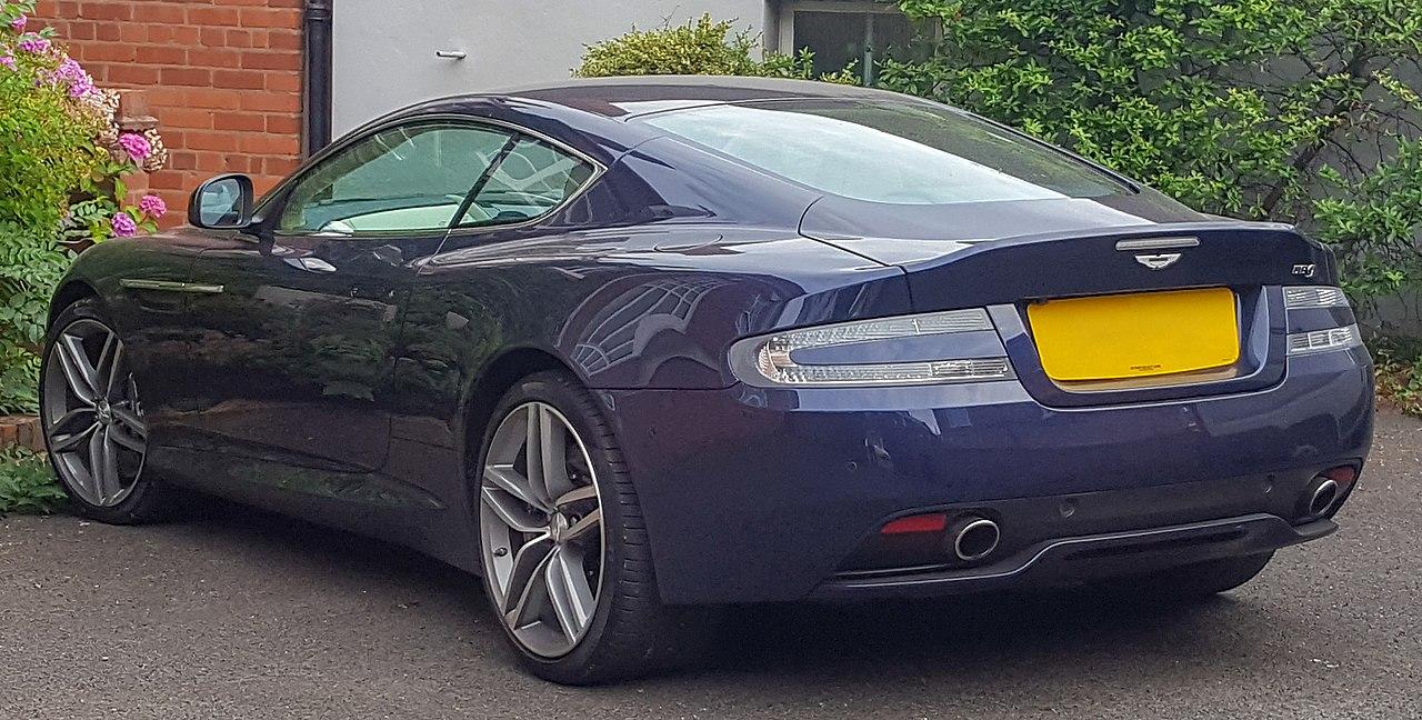 File 2015 Aston Martin Db9 V12 Automatic 5 9 Jpg Wikimedia Commons