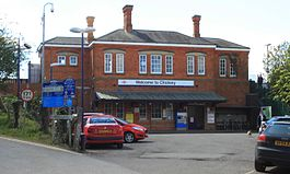 2016 at Cholsey station - exterior.JPG