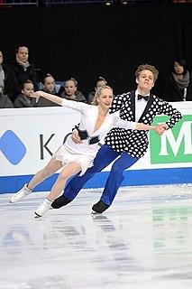 Nicole Kuzmichová ice dancer