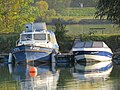 2018-10-22 (818) Boats N 23722 and Starcraft Patricia in Krems an der Donau, Austria.jpg