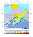 2018-11-30 Anchorage, Alaska M7 earthquake intensity map (USGS).jpg