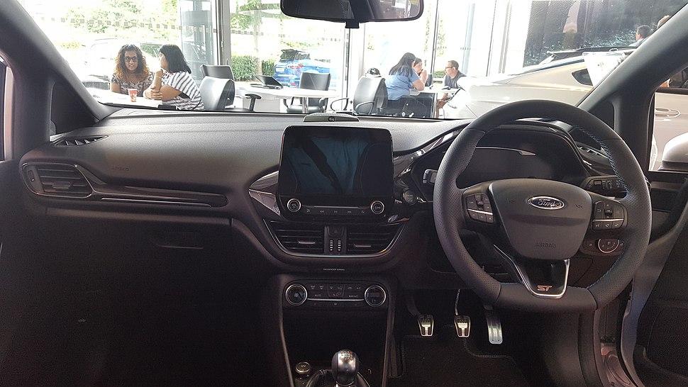 2018 Ford Fiesta ST 1.5 Interior