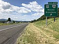 2019-06-06 10 17 22 View south along Interstate 81 at Exit 257 (U.S. Route 11, Virginia State Route 259, Mauzy, Broadway) in Mauzy, Rockingham County, Virginia.jpg