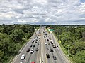 2019-07-18 14 53 01 View north along Interstate 695 (Baltimore Beltway) from the overpass for Interstate 70 in Woodlawn, Baltimore County, Maryland.jpg