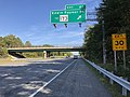 2019-09-23 15 26 43 View east along Maryland State Route 100 (Paul T. Pitcher Memorial Highway) at Exit 20 (Edwin Raynor Boulevard, TO Maryland State Route 173) in Pasadena, Anne Arundel County, Maryland.jpg