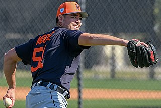 Matt Moore (baseball) American baseball player