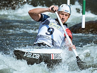 Denis Gargaud Chanut French slalom canoeist