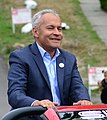 2019 Seattle Fiestas Patrias Parade - 009 - Grand Marshal Jorge L. Barón, Executive Director of Northwest Immigrant Rights Project (cropped).jpg