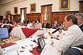 21-05-14- Quito Ecuador,Canciller Ricardo Patiño conversó con medios de comunicación sobre la universalización del SIDH y Día Internacional contra Chevron-21 (14236114391).jpg
