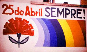 Carnation Revolution - Image: 25 de Abril sempre Henrique Matos